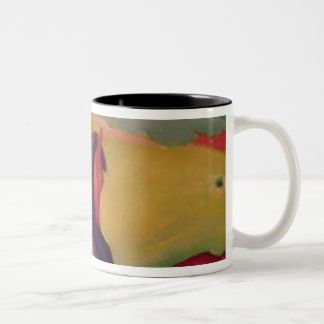 Horse in a landscape, 1910 Two-Tone mug