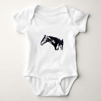 Horse Pop Art Infant Creeper