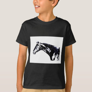 Horse Pop Art Tee Shirts
