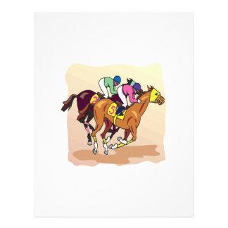Horse Racing 6 21.5 Cm X 28 Cm Flyer