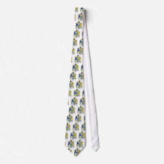 Horsley Family Crest Tie