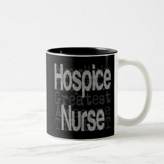 Hospice Nurse Extraordinaire Two-Tone Mug