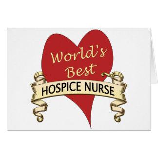 Hospice Nurse Greeting Card