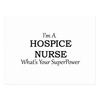 HOSPICE NURSE POSTCARD