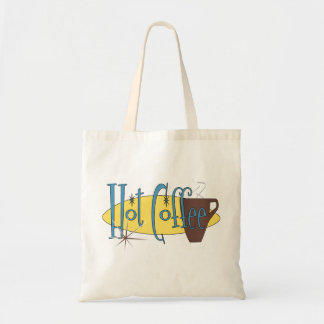 Hot Coffee Budget Tote Bag