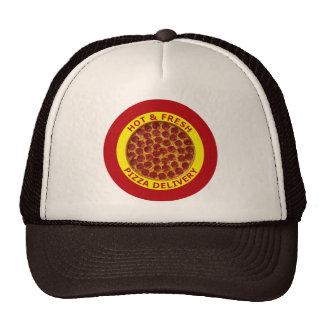 Hot & Fresh Pizza Delivery Cap