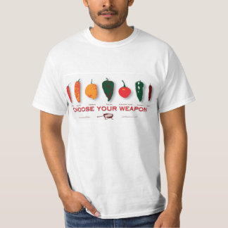 Hot Peppers - Choose Your Weapon T Shirts