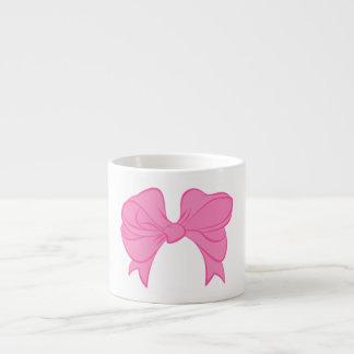 Hot Pink Bow Espresso Mug