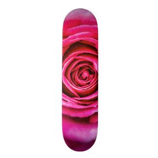 Hot Pink Rose Skateboard Decks