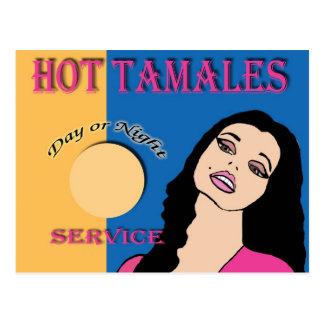 Hot Tamales Postcard