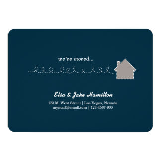 house 13 cm x 18 cm invitation card