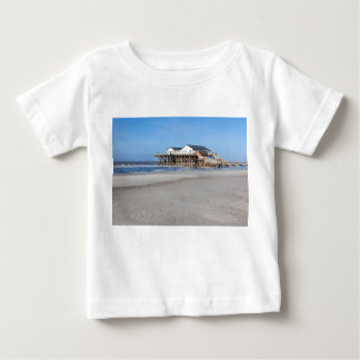 House on stilts at the beach of St. Peter Ording Tee Shirts