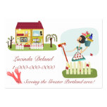Housekeeping Business Pack Of Chubby Business Cards