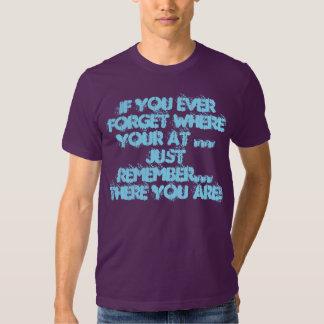 How Did I Lose Myself? Tshirts