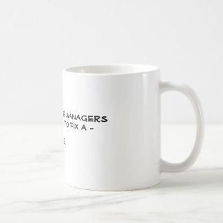 How Many Stage Managers...? Basic White Mug