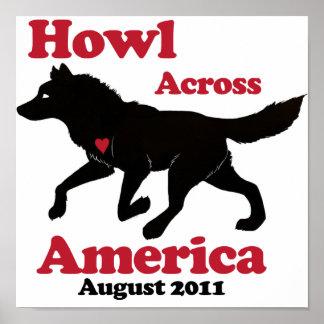 Howl Across America Poster