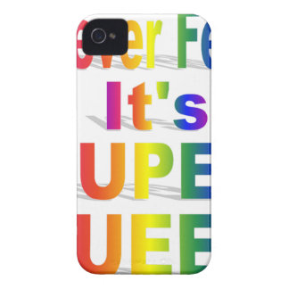 HR Super Queer - Gay.png iPhone 4 Cases