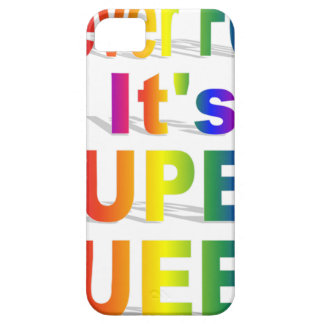 HR Super Queer - Gay.png iPhone 5 Cases