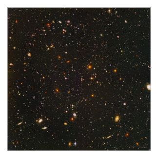 Hubble Ultra Deep Field 24x24  (22x22) Poster