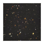 Hubble Ultra Deep Field View of 10,000 Galaxies Stretched Canvas Print
