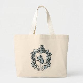 Hufflepuff Crest Blue Jumbo Tote Bag