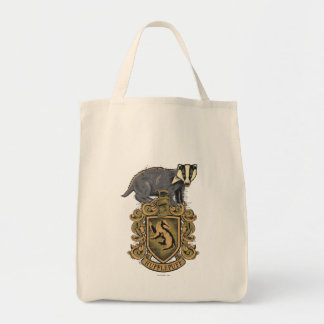 HUFFLEPUFF™ Crest Grocery Tote Bag