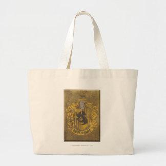 Hufflepuff Crest HPE6 Jumbo Tote Bag