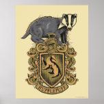 HUFFLEPUFF™ Crest Poster