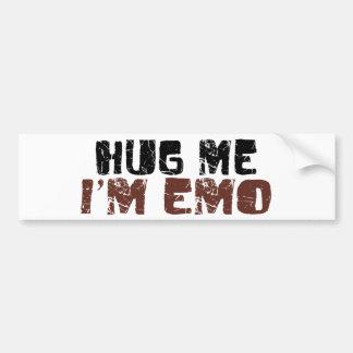 Hug Me I'M Emo Bumper Sticker