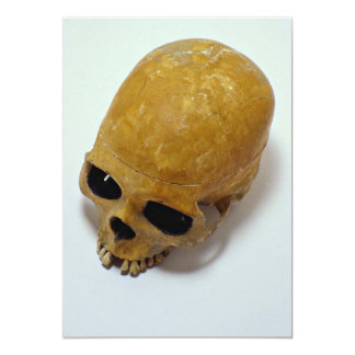 Human Skull 13 Cm X 18 Cm Invitation Card