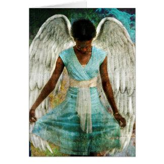 Humble Angel Greeting Card