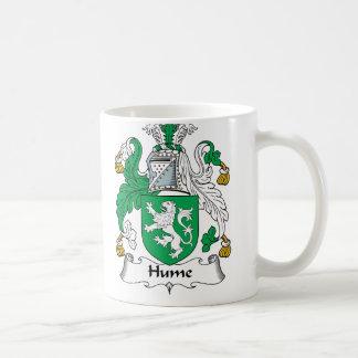 Hume Family Crest Basic White Mug
