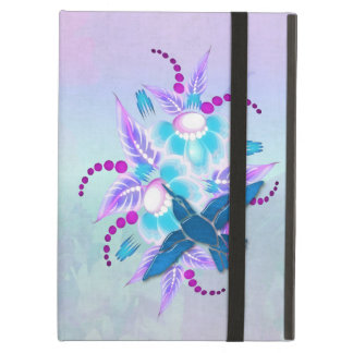 Hummingbird Floral Art Deco iPad Air Cases