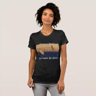 Humpack Whales Surfers Paradise Queensland T-shirt