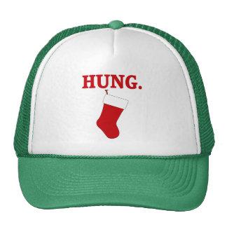 HUNG Funny Men's Christmas Hats