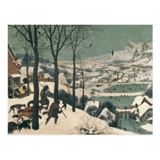 Hunters in the Snow - january, 1565 Postcard