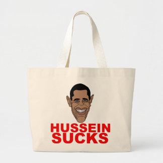 Hussein Sucks Jumbo Tote Bag