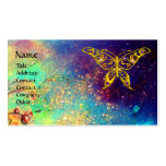 HYPER BUTTERFLY IN GOLD SPARKLES PACK OF STANDARD BUSINESS CARDS