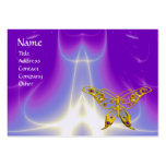 HYPER BUTTERFLY / LIGHT WAVES, Pink,Purple,Violet Pack Of Chubby Business Cards