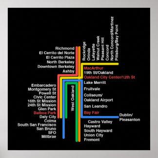 Hyperlinear BART map (black) Poster