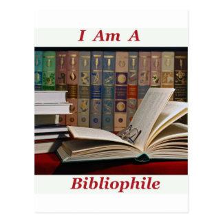 I am a Bibliophile Postcard