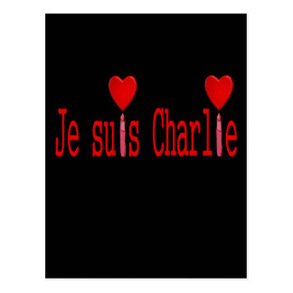 I am charlie postcard