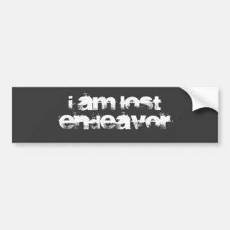 I Am Lost Endeavor Bumper Sticker