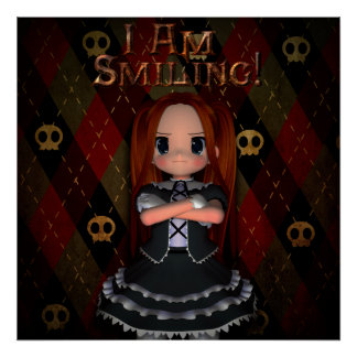 I Am Smiling Poster