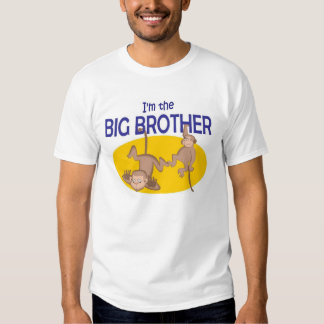 I am the big brother monkey t shirts