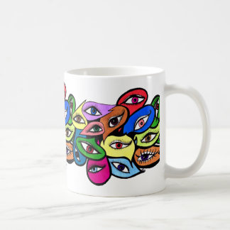 I can see it in your eyes basic white mug