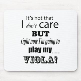 I Care Viola Mouse Pad