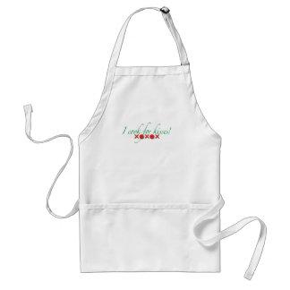 I cook for Kisses Standard Apron