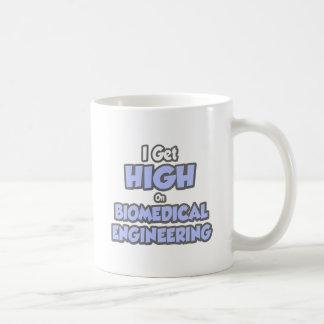 I Get High On Biomedical Engineering Basic White Mug