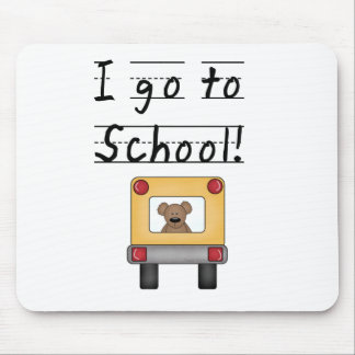 I Go To School Mouse Pad